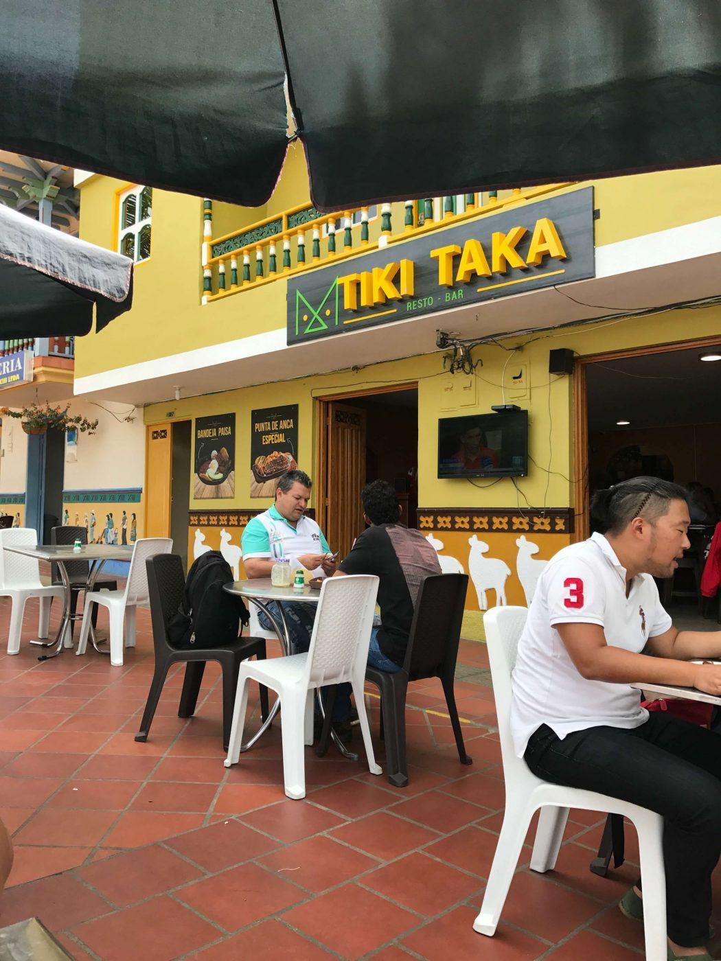 Tiki Taka restaurant guatape