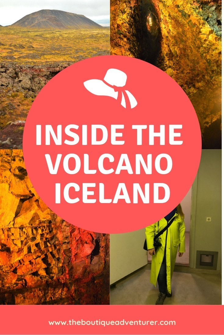 Iceland is the only place in the world where it is possible to go inside an actual volcano! The Inside the Volcano Tour is a once in a lifetime experience. head to the ski fields of Iceland and then walk across the tundra to base camp. Then have the bucket list moment of getting into a lift and going inside an actual volcano. I couldn't believe how beautiful and colourful it was! See it all in my video #insidethevolcano #iceland