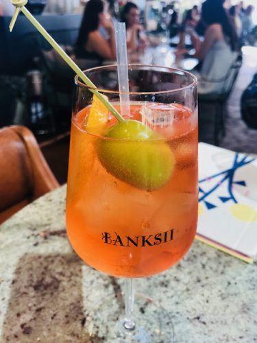 Aperol Spritz Banksii Barangaroo Restaurants