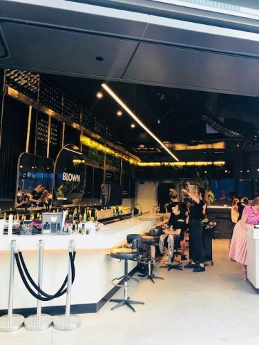 Bar and hairdressers barangaroo