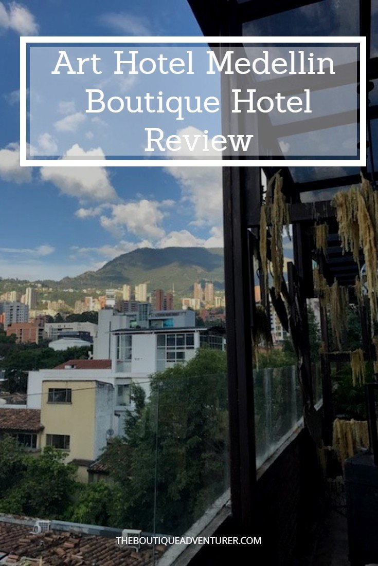 The Art Hotel Medellin has a brilliant location and an aesthetic you won't forget! Find out how to Get the Most out of your stay here #arthotelmedellin #arthotel #medellin #medellinhotels #medellincolombiahotels #medellin #colombia #medellinhotels #colombiahotels#colombiatravel#medellintravel #