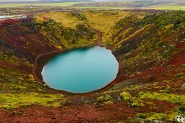 kerio volcanic crater lake iceland travel tips