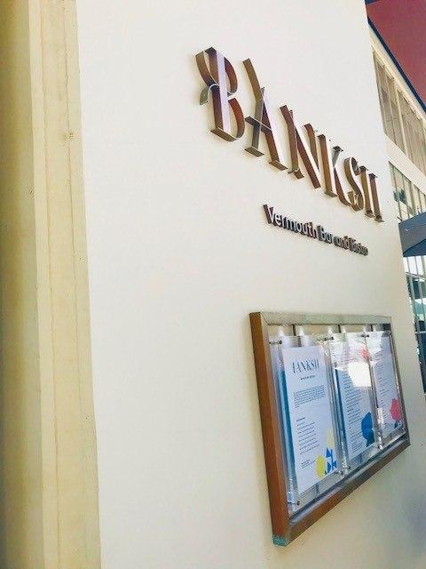 Banksii Barangaroo signage