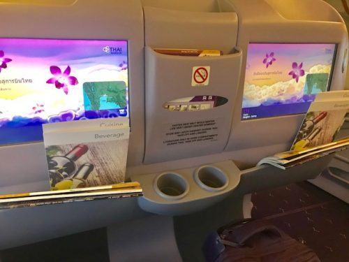 thai business class screens