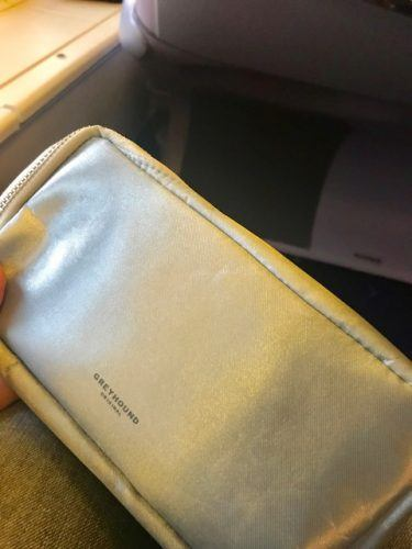 thai airways business class toiletries bag