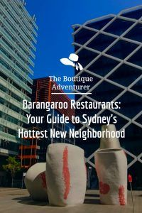 barangaroo restaurants