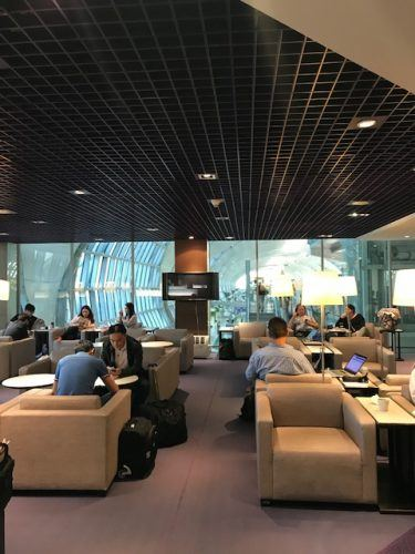 Royal silk lounge gate c bangkok airport