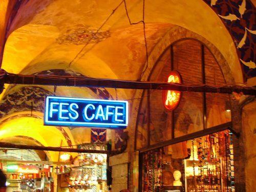 Fes cafe grand bazaar