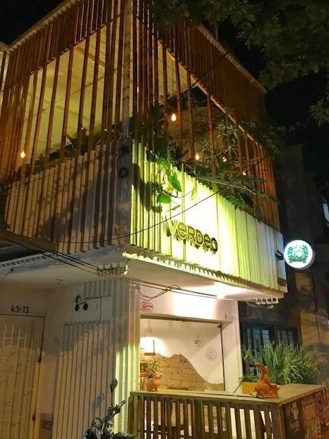 Verdeo restaurant Medellin