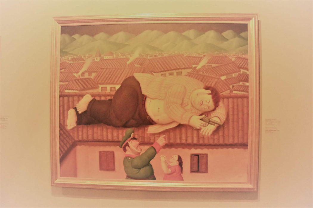 Pablo Escobar death Botero Painting