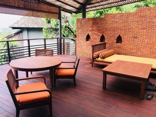 shared area at kamalaya