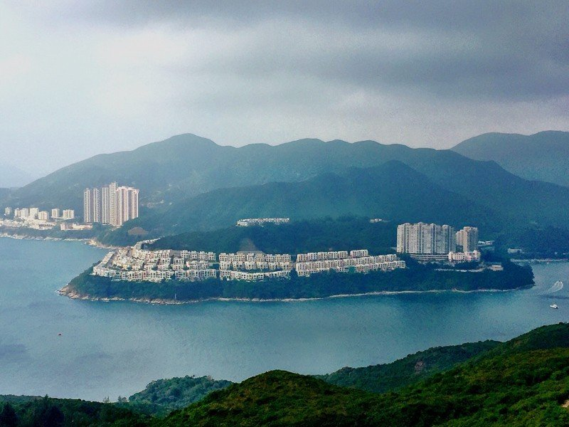 Hong Kong View from Shek O