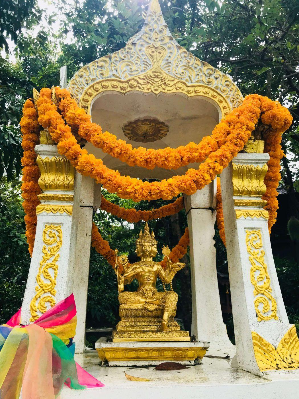 yellow temple kamalaya koh samui