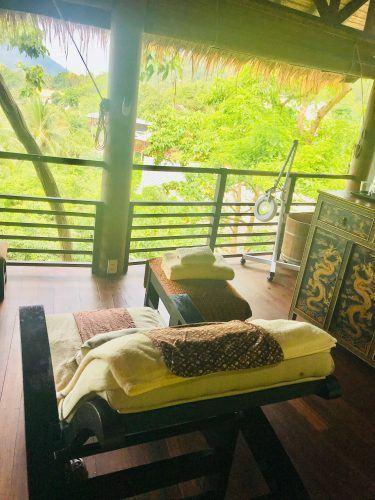 massage area kamalaya