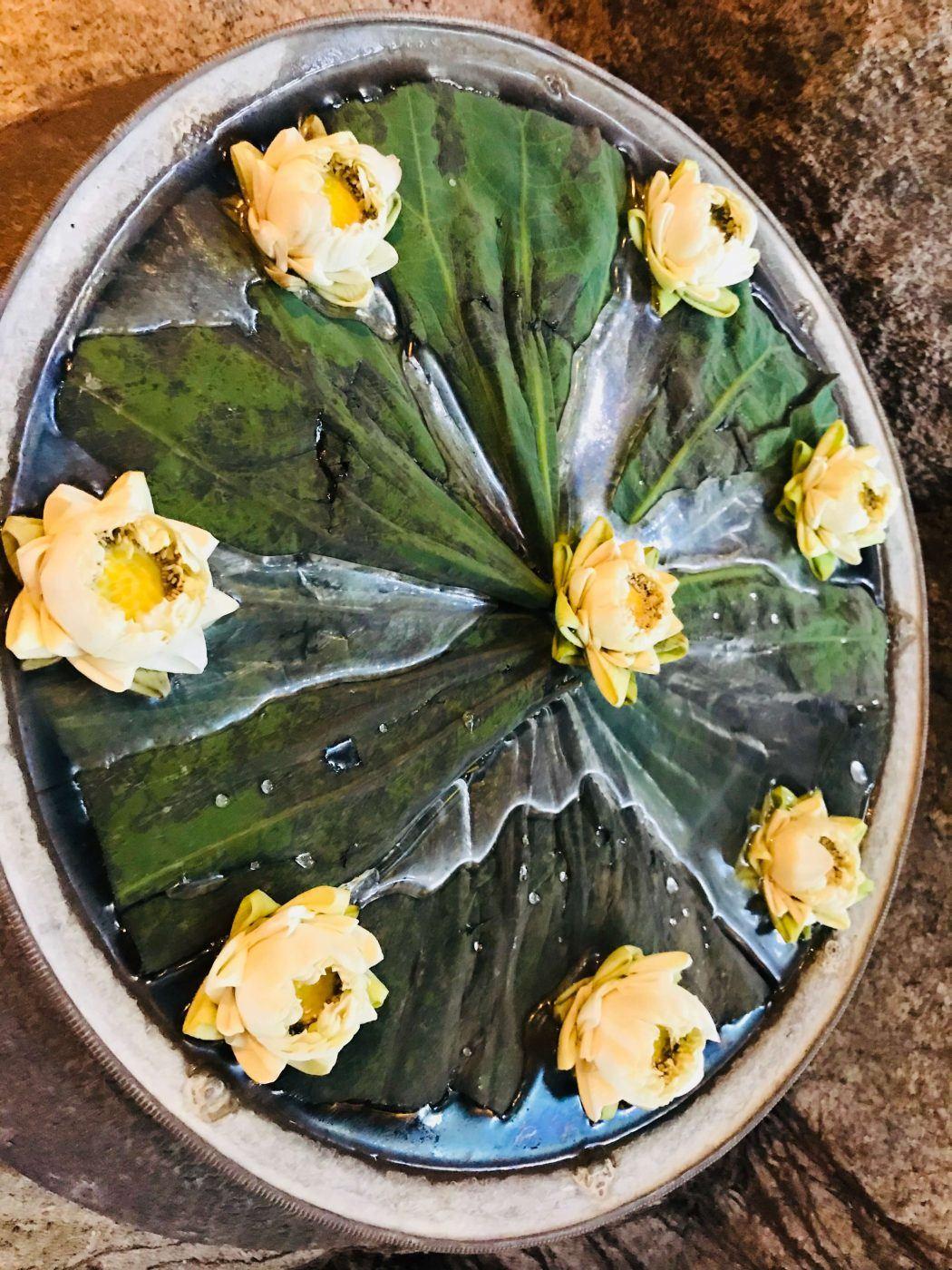 kamalaya floral display