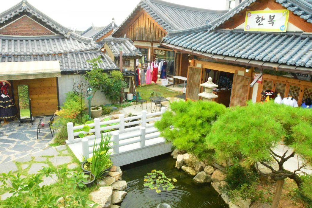 hanok village in jeonju korea