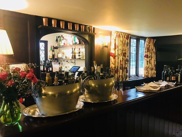 bar at ockenden manor