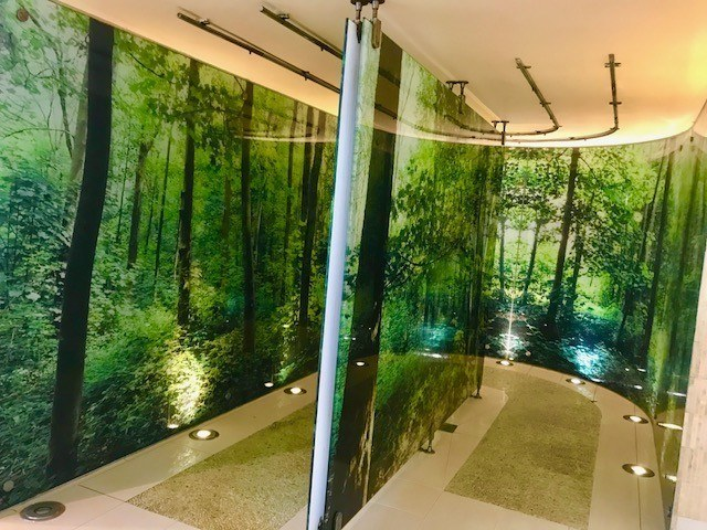 ockenden manor hotel rainforest shower