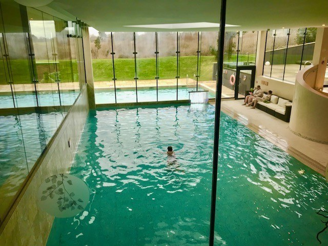 pool at ockenden manor