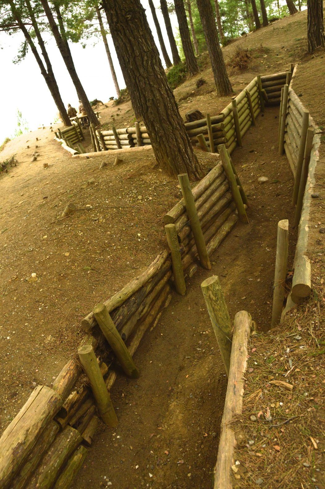 the trenches on the gallipoli peninsula