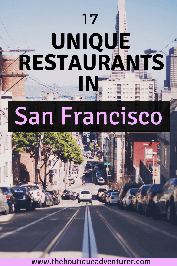 Looking for some fun and unique restaurants in San Francisco? Well, it has a few of them! Here is my list that covers everything from dumplings to mezcal to trans hostesses to mini golf! These are the most fun places to eat in San Francisco