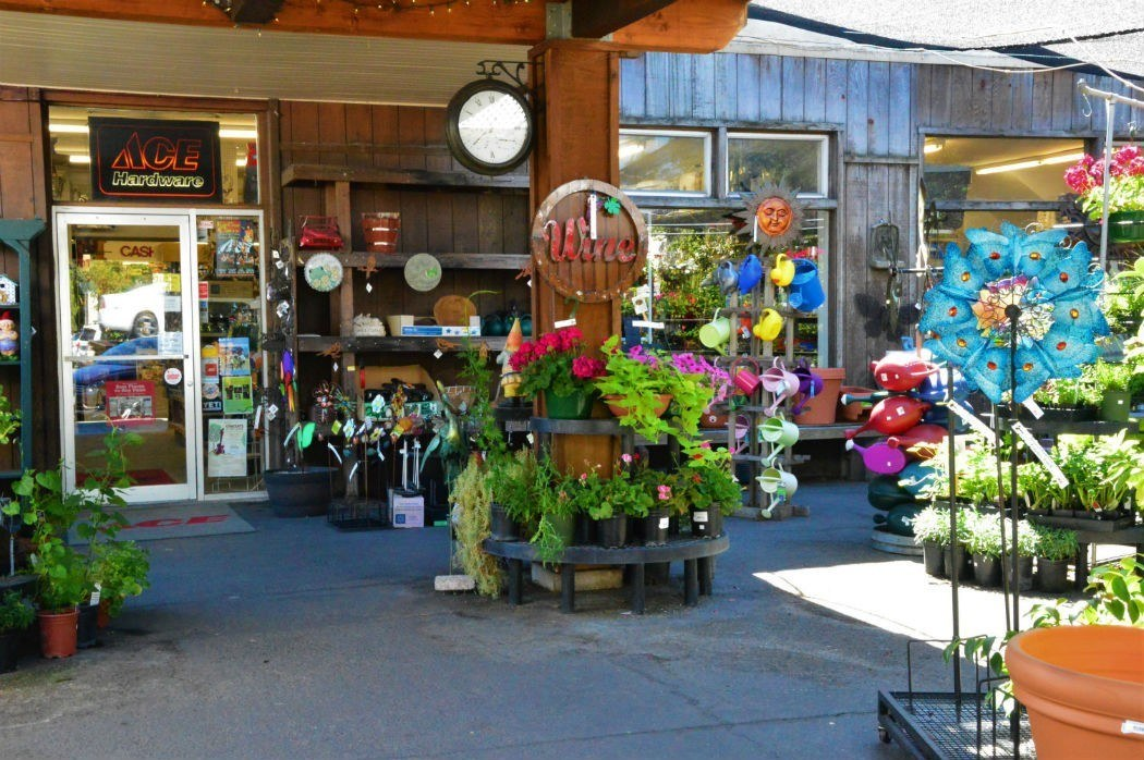 Store on Calistoga Main Street