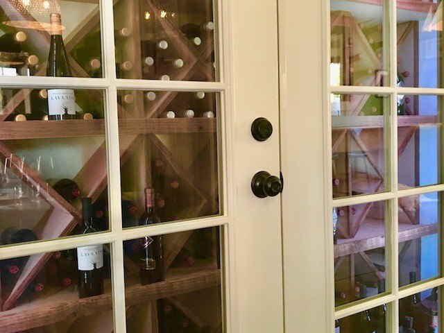 Von Strasser and Lava Winery cupboard