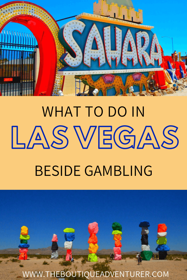 Wandering what things there are to do in Vegas besides gamble? Vegas has so much on offer from amazing shows to street art to fantastic restaurants to brilliant day trips and even great deals on designer labels! Read all about it in this article