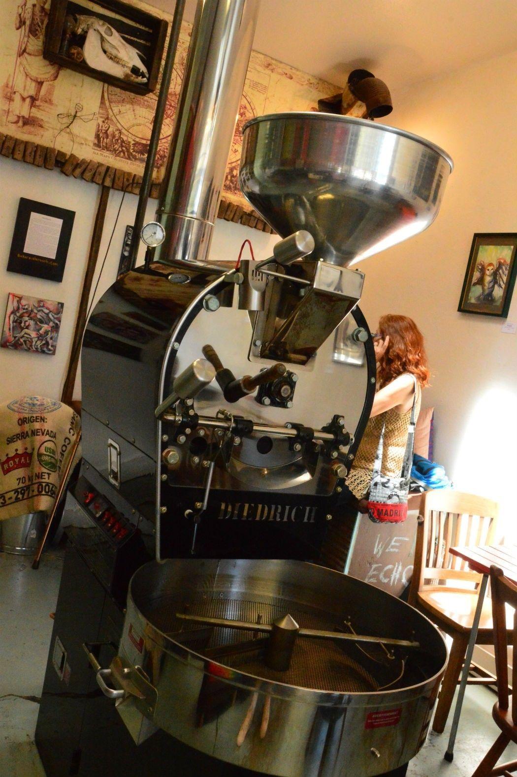 Yo El Rey coffee roasting in Calistoga