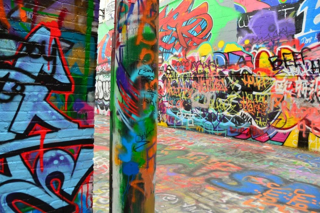 grafitti alley baltimore