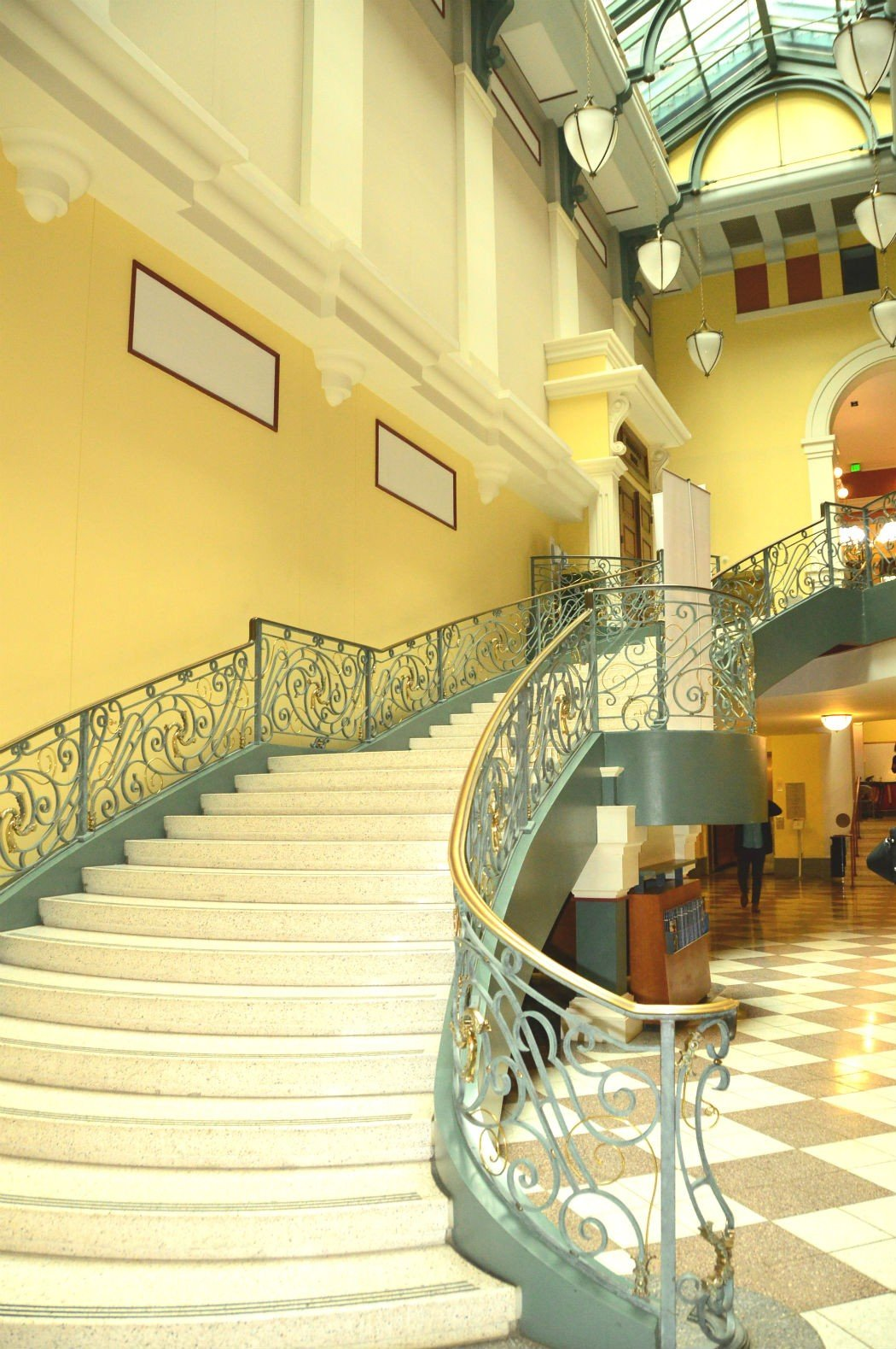 peabody institute staircase