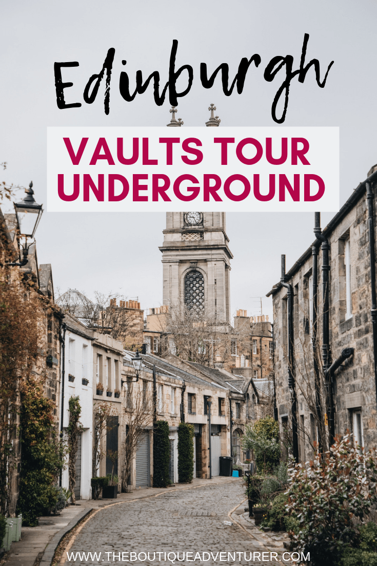 Looking for % memorable Edinburgh Tours? Don't miss an Edinburgh Underground Tour! This is your complete guide to the Best 2 Edinburgh Vaults Tour Options & all you need to know to plan your tour visits