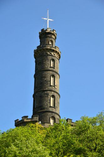 nelson column edinburgh