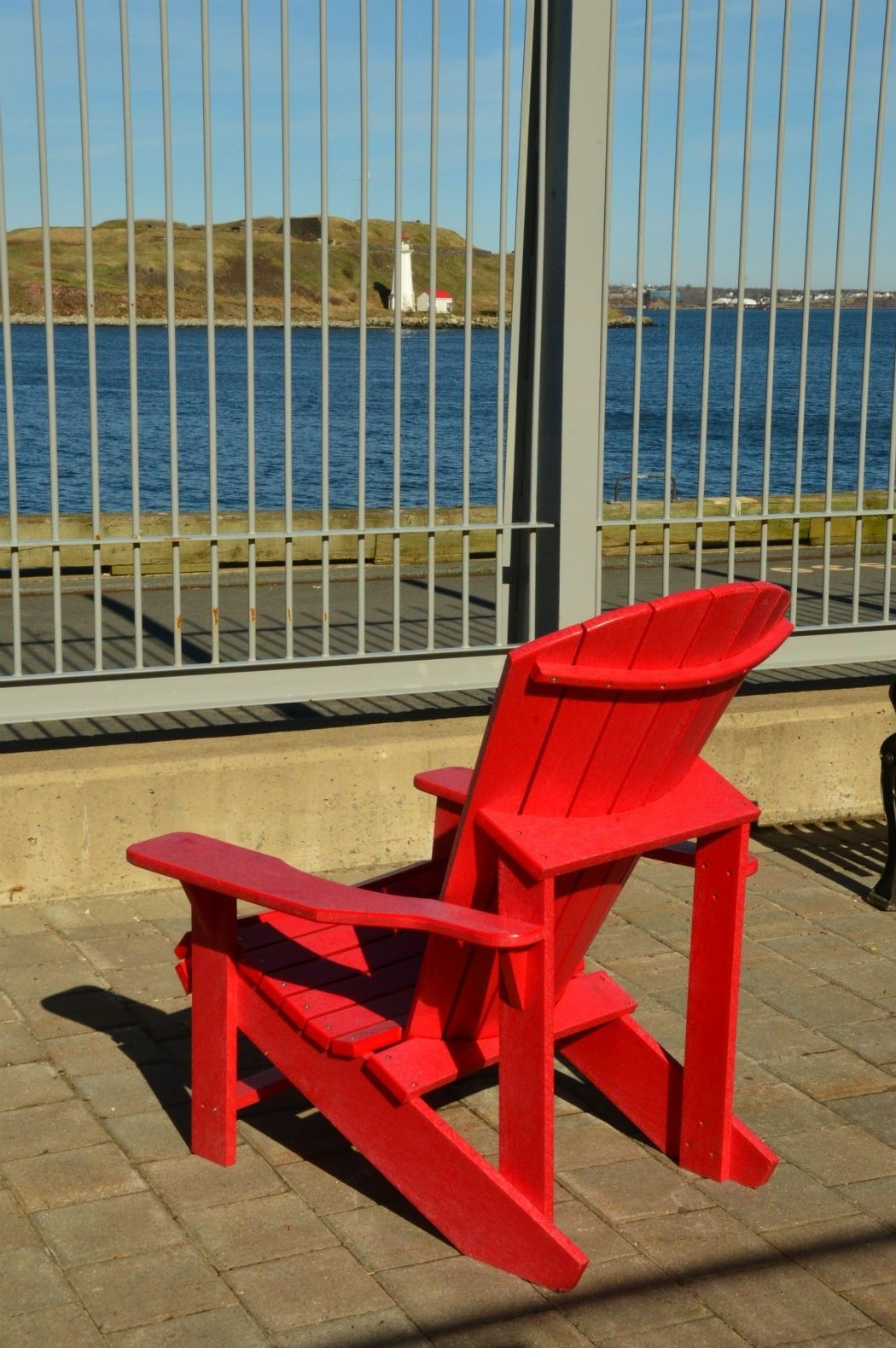 red airondack chair halifax canada
