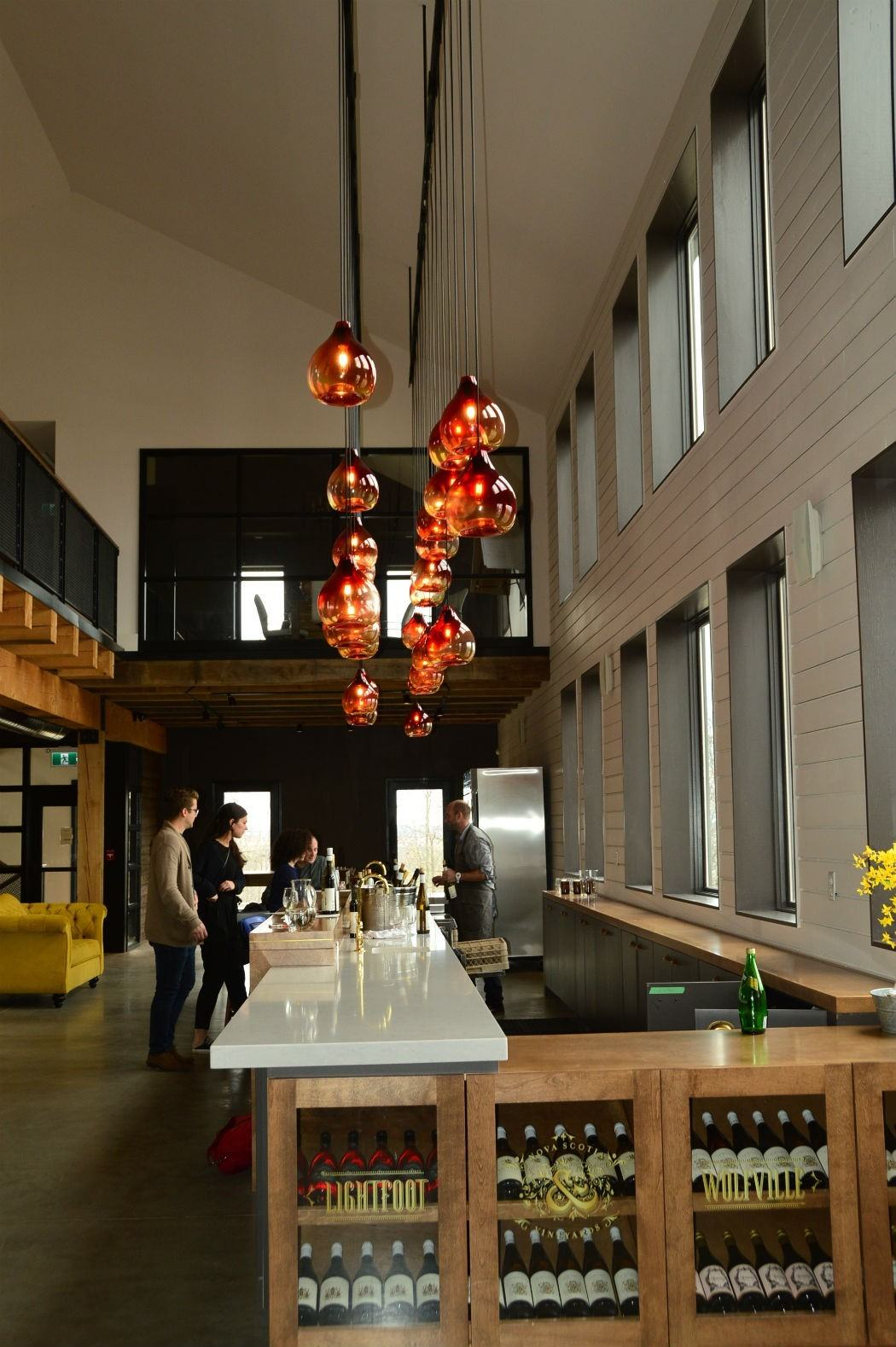 tasting room at Lightfoot & Wolfville