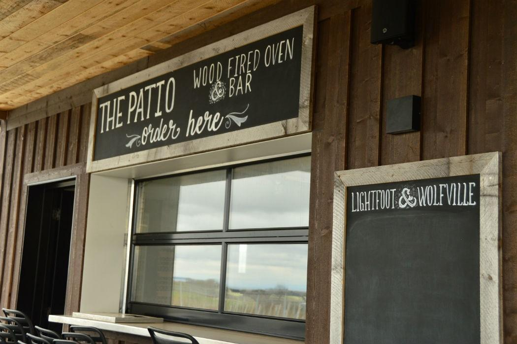 The Patio at Lightfoot and Wolfville