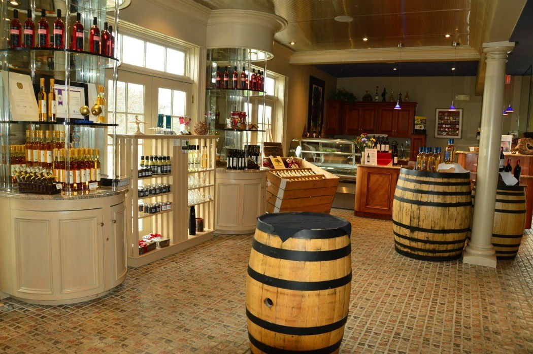 tasting room at grand pre winery wolfville
