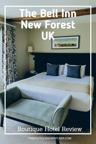 My review of the lovely boutique hotel Bell Inn New Forest #newforest #unitedkingdomhotels #newforesthotels #englandboutiquehotels #boutiquehotels