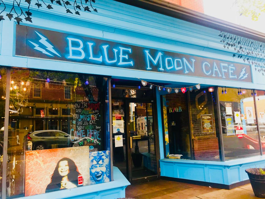Blue Moon Cafe Exterior Baltimore