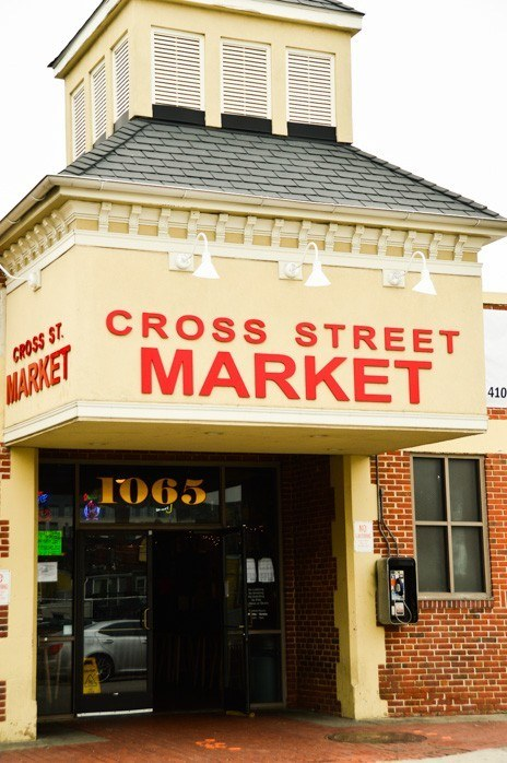 Cross Street Market Baltimore entrance
