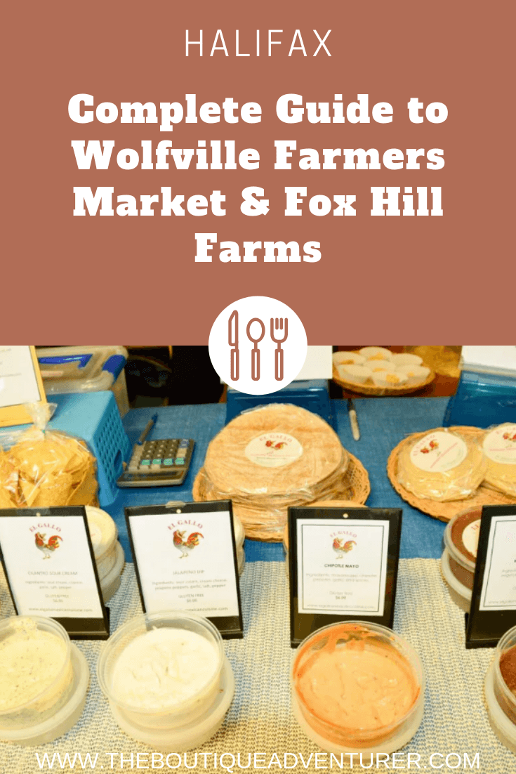 The lovely Wolfville Farmers Market is like something out of a movie - delicious & photogenic! And nearby Fox Hill Farm offers foodies a great day out