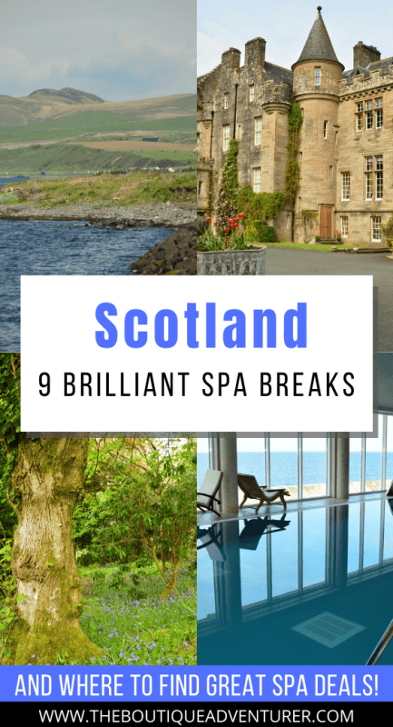 Looking for a European Spa Break? Why not consider Scotland? Here are 9 fantastic spa breaks in Scotland – from Edinburgh to a spa on its own island to Ayrshire – day spas, luxury spas, different treatments – as well as where to go to get the best spa deals! #spa #spabreak #scotland