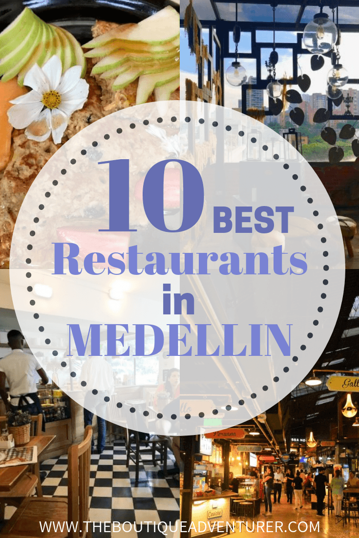 Medellin is a paradise for all the foodies in who travel in Colombia. The amount of good restaurants is astonishing. I selected the 10 best restaurants in Medellin. // Medellin is a big place so I have focused on the El Poblado neighbourhood in this post with a couple of exceptions. This is where I stayed so where I ate the most and it is where most tourists stay. It is also known as a key restaurant area in Medellin. #medellin