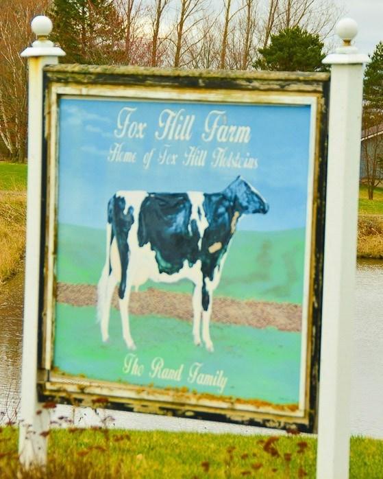 Fox Hill Farm Sign