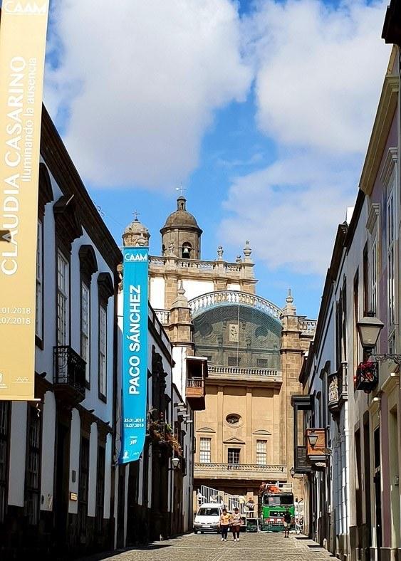 street in Las Palmas Gran Canaria