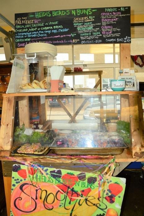 Heidi's Beads n Buns stall