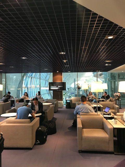 C gate lounge thai airways bangkok airport