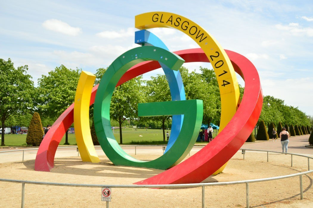 Glasgow Commonwealth Games sculpture