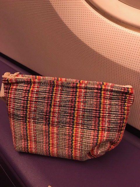 thai airways a380 business class amenities bag