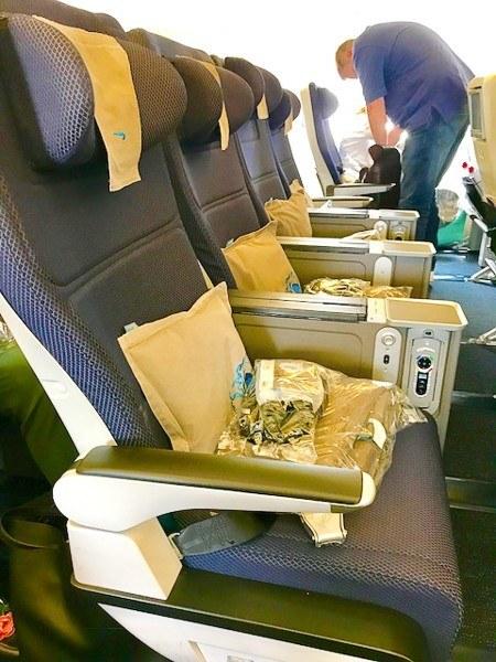 british airways world traveller plus seats